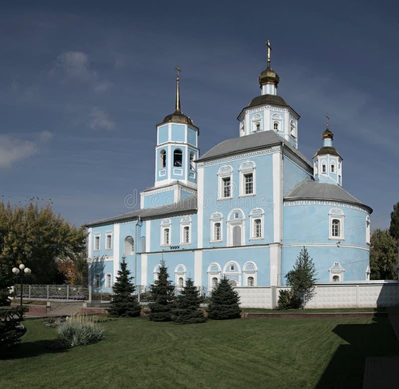 Smolensky Cathedral. Belgorod. Russia. Orthodox smolensky cathedral. Belgorod city, Russia stock photography