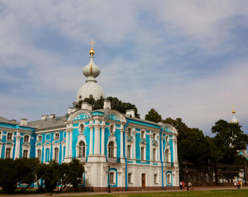 Download Smolny Cathedral stock photo. Image of bell, cathedral - 17268342