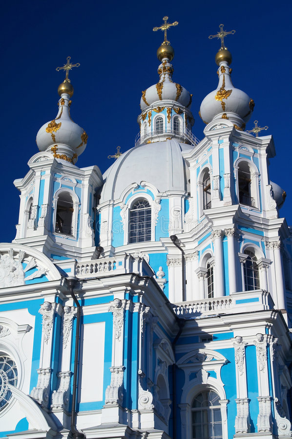 Download Smolny Cathedral And Convent Royalty Free Stock Photography - Image: 3761387