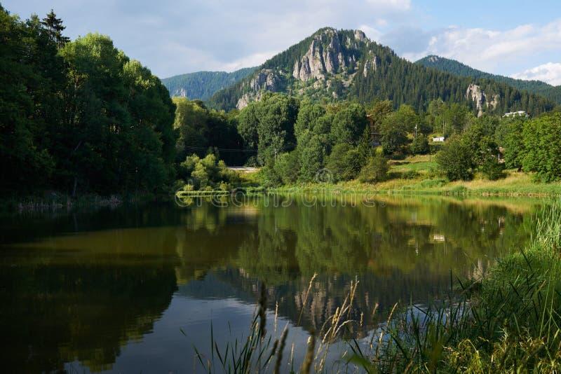 Smolyan jezioro, Bułgaria obraz royalty free