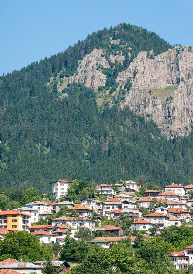 Smolyan rock in Bulgaria royalty free stock images