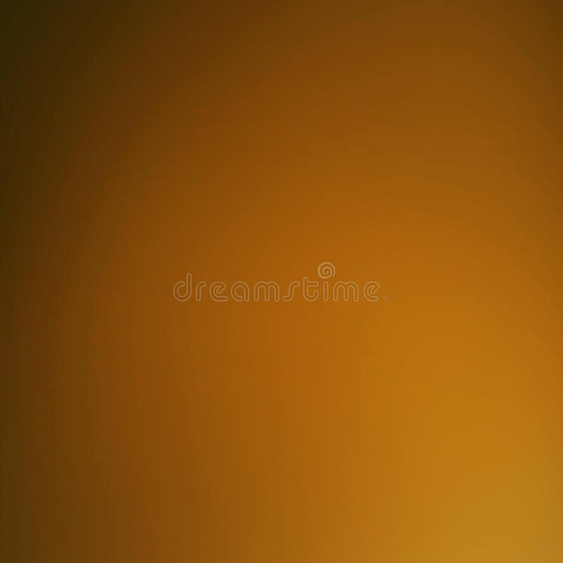 Smooth abstract blur background with gradient effect. Blurry festive background. Caramel, camel color royalty free stock photos