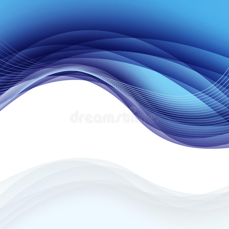 Smooth abstract border wave soft dotted background modern futuri. Stic cool layout. Vector. Clip-art royalty free illustration