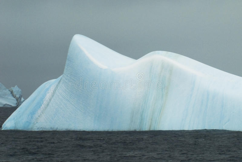 Download Smooth Blue Iceberg Stock Image - Image: 14169311
