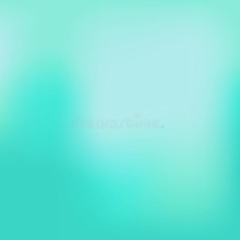 Smooth and blurry colorful gradient mesh background. Vector illustration with bright rainbow colors. Easy editable soft colored royalty free illustration