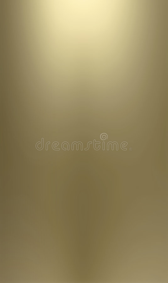 Smooth brass metallic backgrou stock illustration