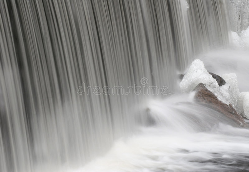 Smooth Cascade royalty free stock images