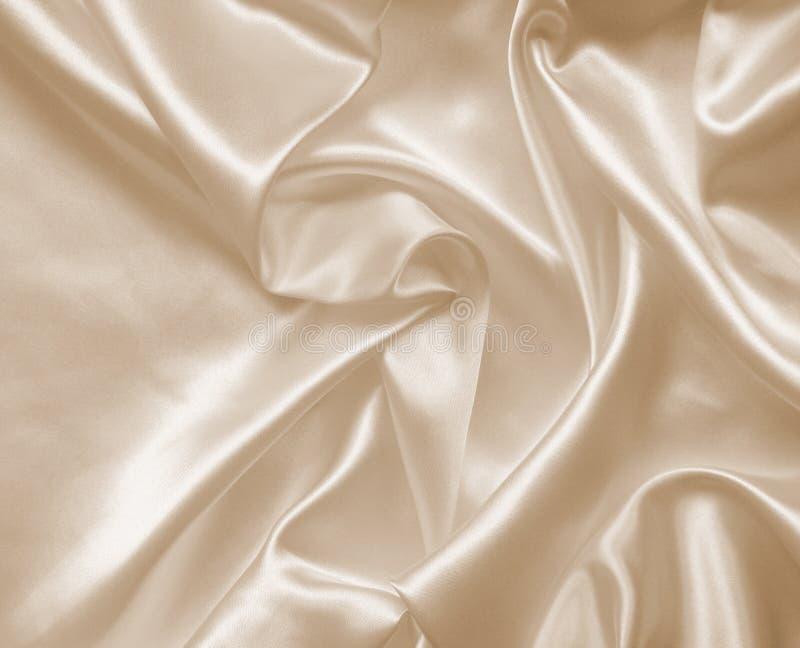Smooth elegant golden silk as wedding background. In Sepia toned. Smooth elegant golden silk can use as wedding background. In Sepia toned. Retro style royalty free stock photography