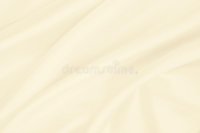 Smooth elegant golden silk or satin luxury cloth texture as wedding background. Luxurious background design. In Sepia toned. Smooth elegant golden silk or satin stock photo