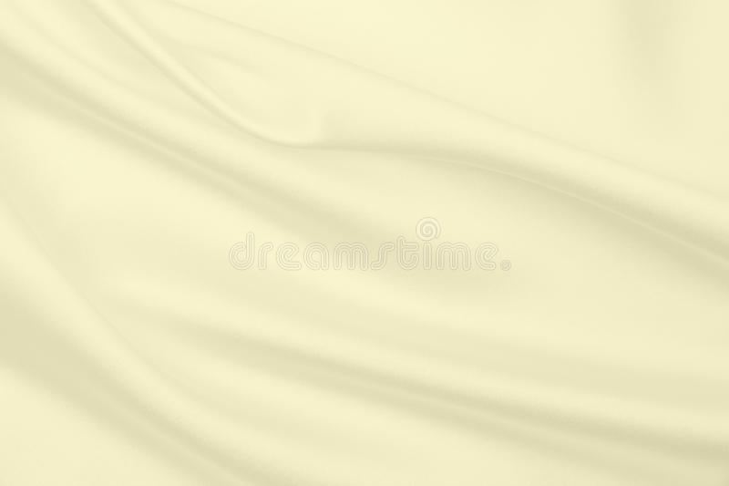 Smooth elegant golden silk or satin luxury cloth texture as wedding background. Luxurious background design. In Sepia toned. Smooth elegant golden silk or satin stock image