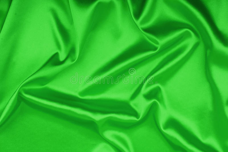 Download Smooth Elegant Green Silk Background Stock Photo - Image: 25035156