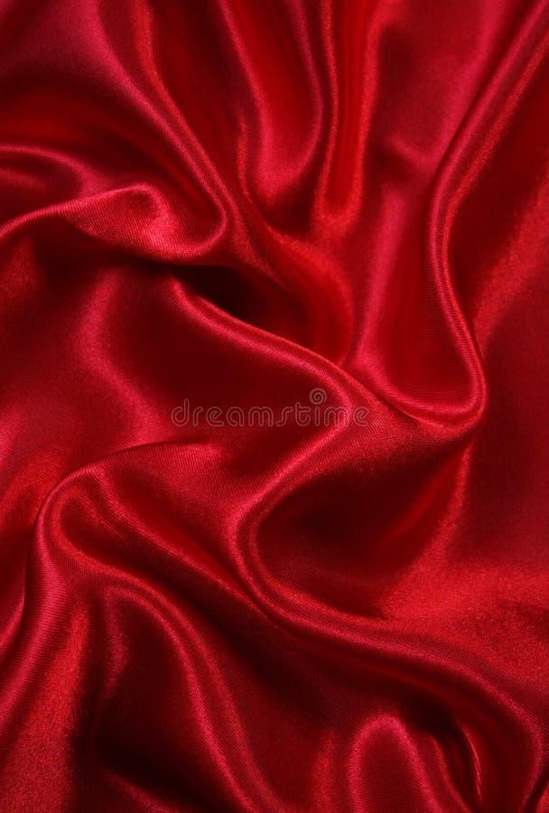 Smooth elegant red silk as background