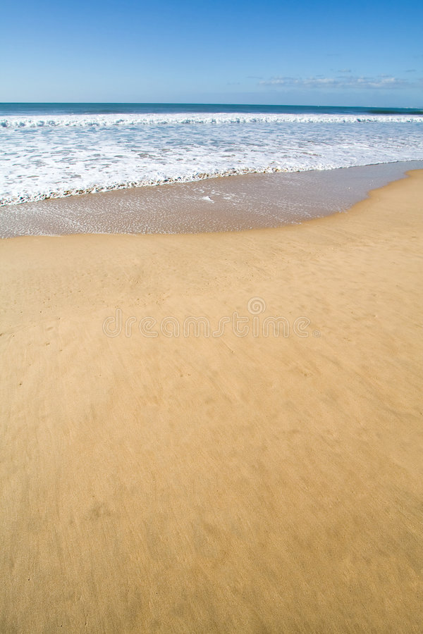 Free Smooth Golden Beach Sand Stock Images - 4888494