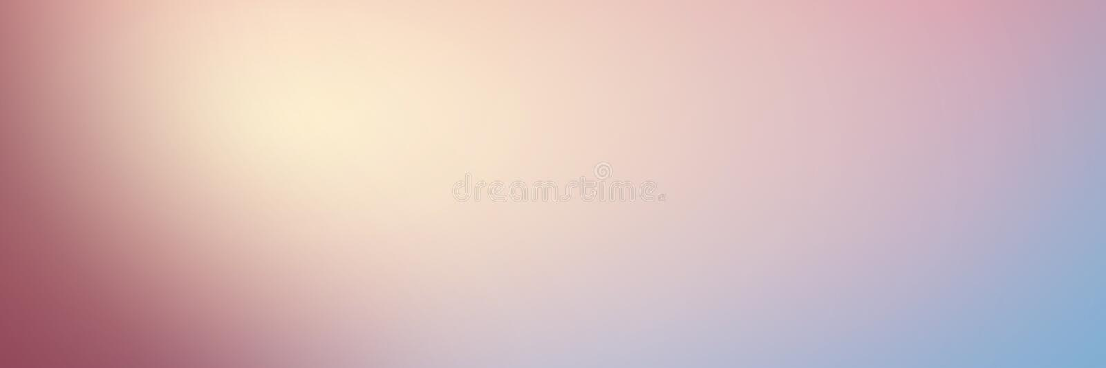 Smooth gradient background with pastel pink and blue colors. Lon stock photos