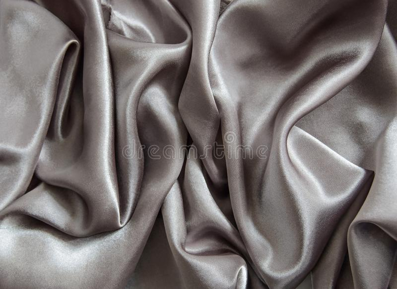 Smooth grey elegant dark grey silk texture royalty free stock photo