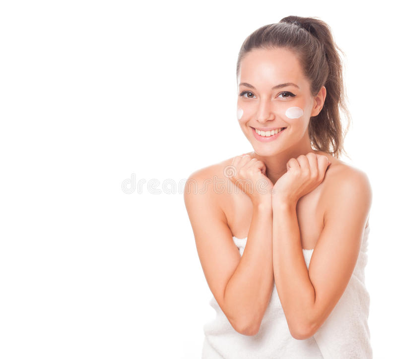 Smooth and healthy. royalty free stock photos