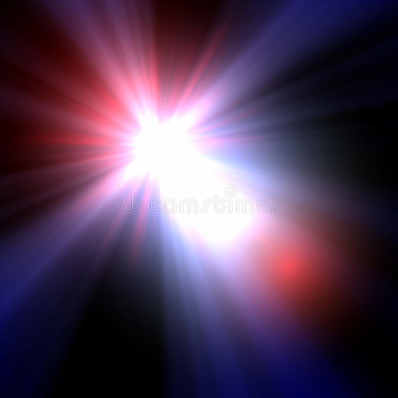 Download Smooth Light Lines With Lens Effect Vector Stock Vector - Image: 27592991