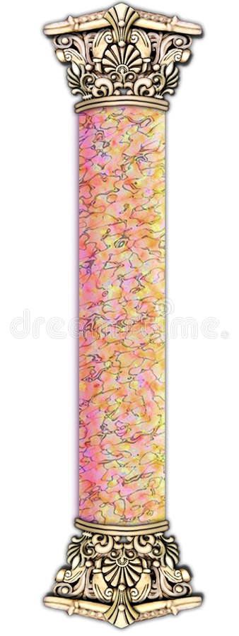 Download Smooth, Marble & Stone Column Stock Illustration - Image: 503762