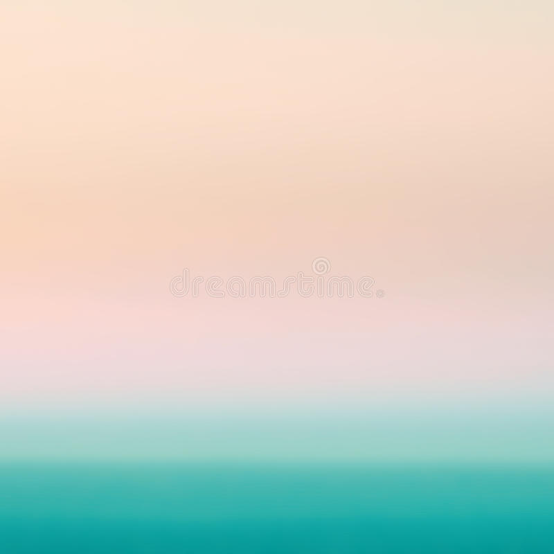 Smooth Pastel Abstract Gradient Background with yellow, pink and royalty free stock photography