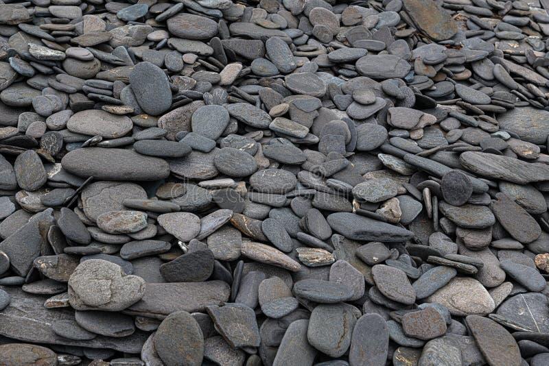 Smooth Rocks Fox Island royalty-vrije stock foto