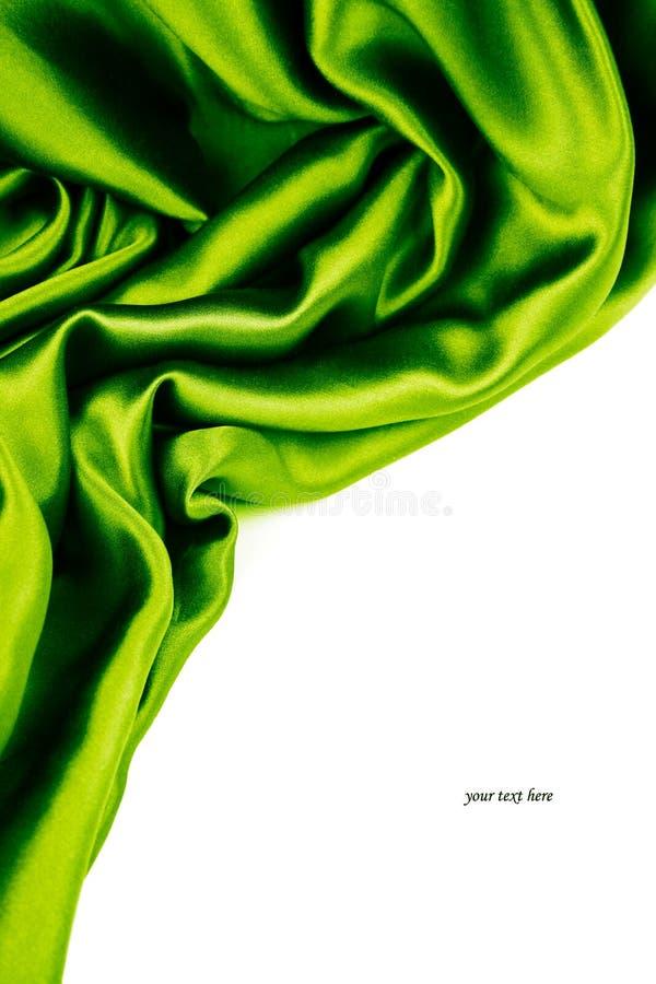 Smooth silk stock image