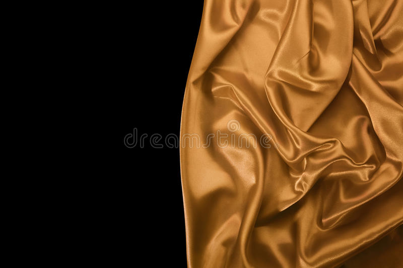 Smooth silky drapery royalty free stock photography