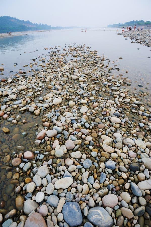 Smooth Stones Stock Photo