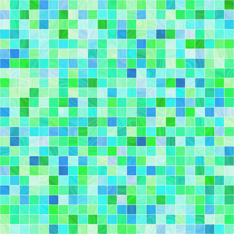 Smooth tiles royalty free illustration