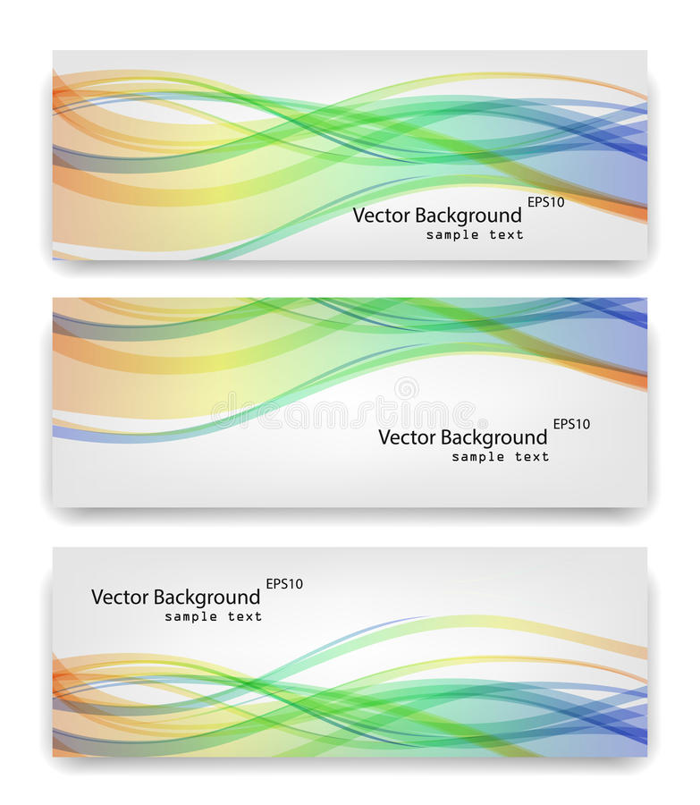 Smooth Waves. | EPS10 Vector Background vector illustration