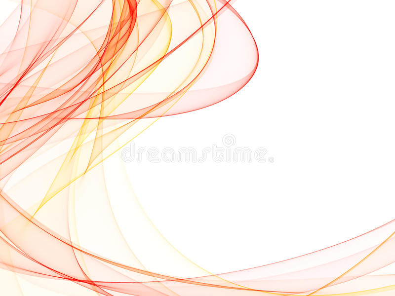Smooth waves royalty free illustration