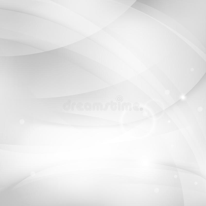 Smooth white background royalty free illustration