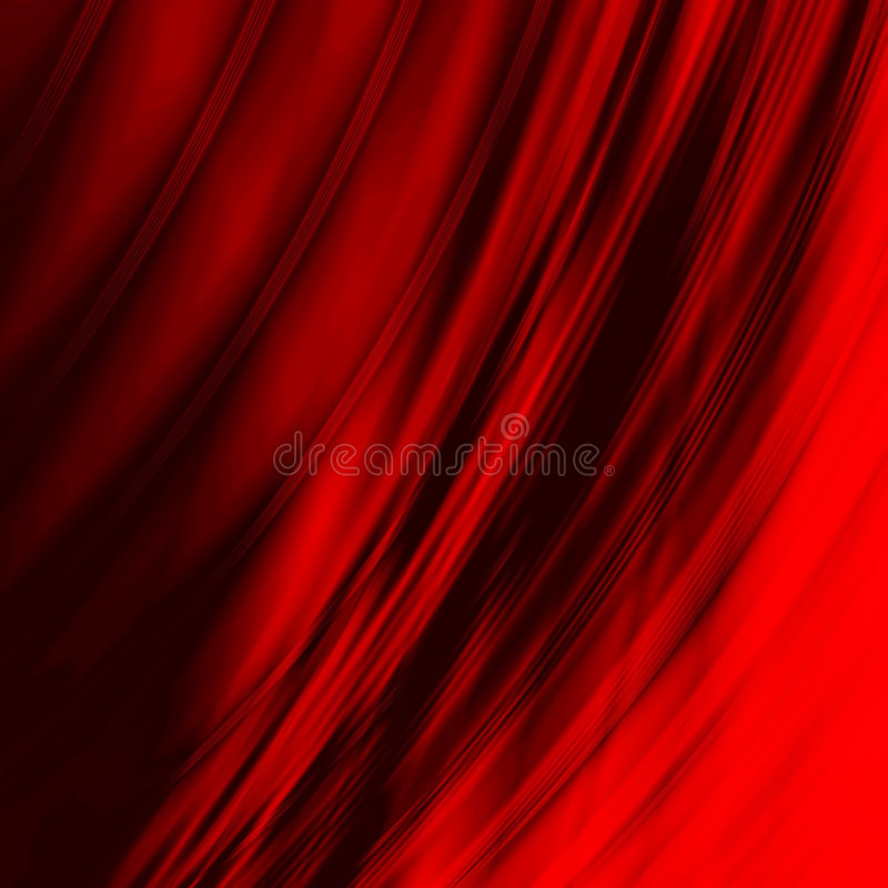 Smoothed red lines royalty free illustration