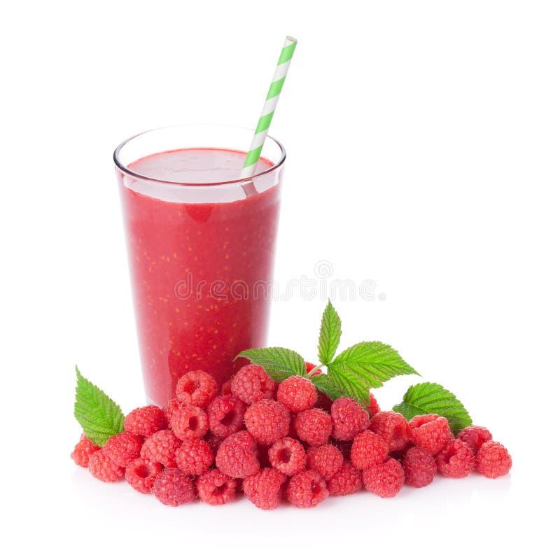 Smoothie и ягоды поленики стоковые изображения rf