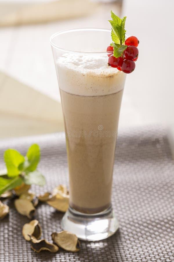 Smoothie кофе стоковая фотография