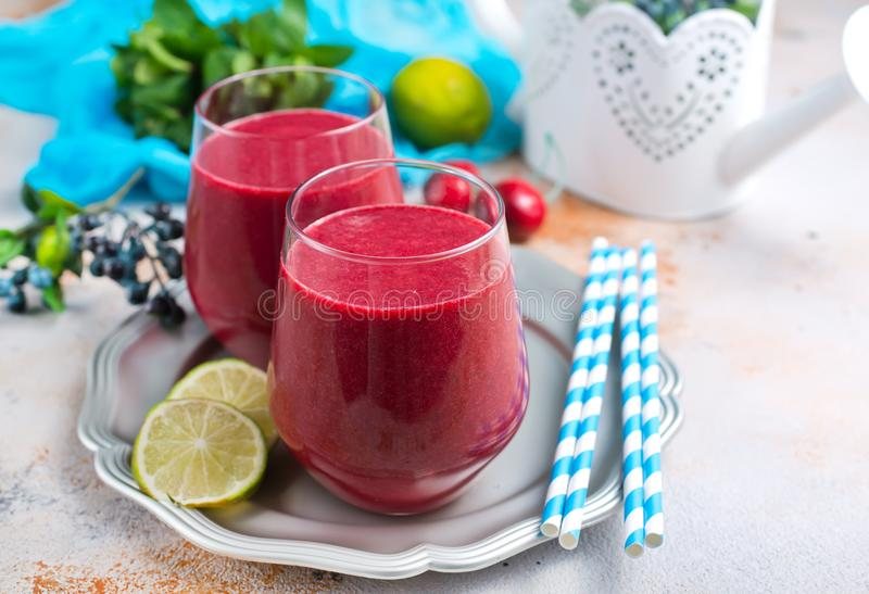 smoothie royaltyfri bild