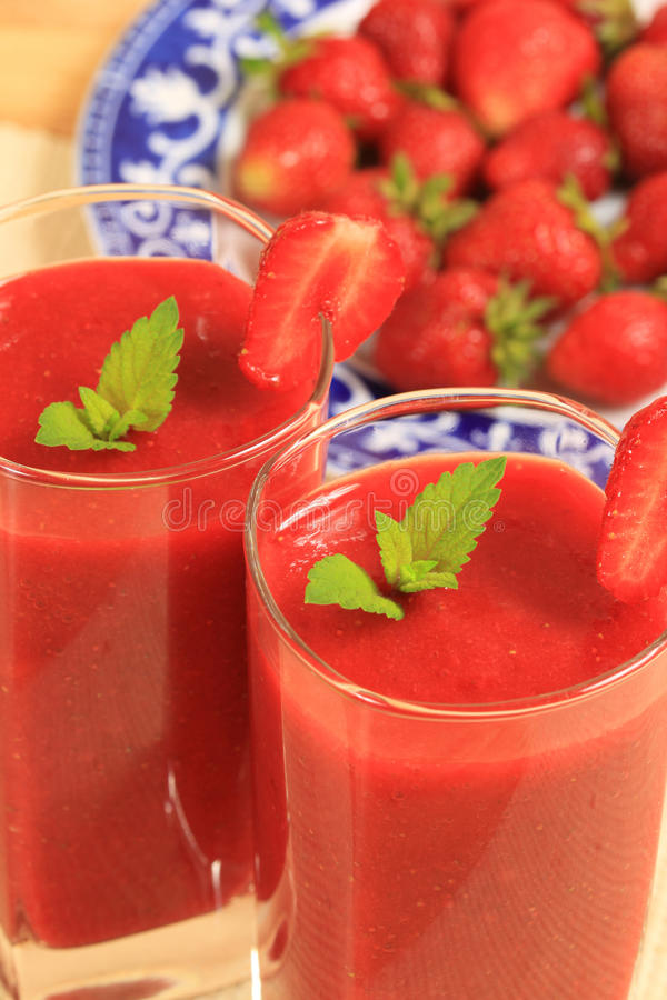Download Smoothie stock photo. Image of food, glass, cuisine, strawberries - 14855214