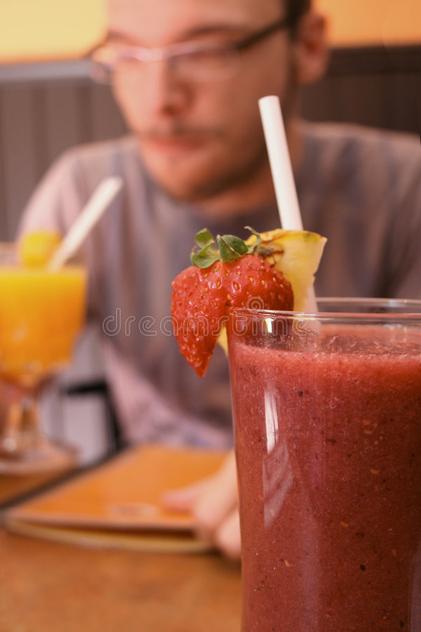 Smoothie royalty free stock photo