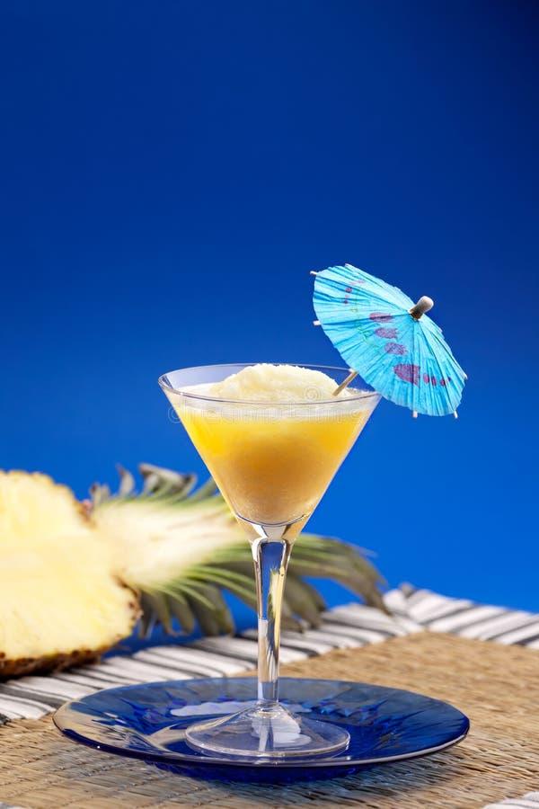 smoothie d'ananas images libres de droits