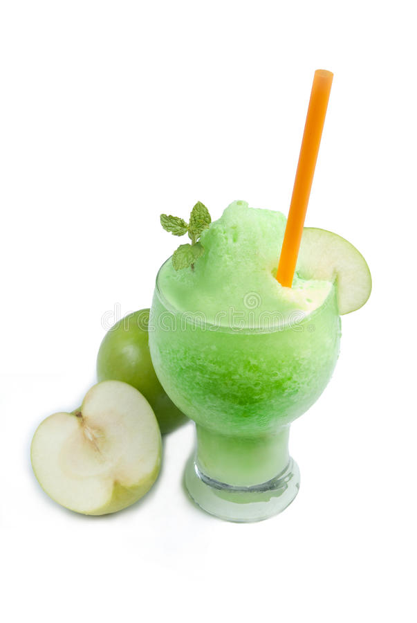 Smoothie d'Apple images stock