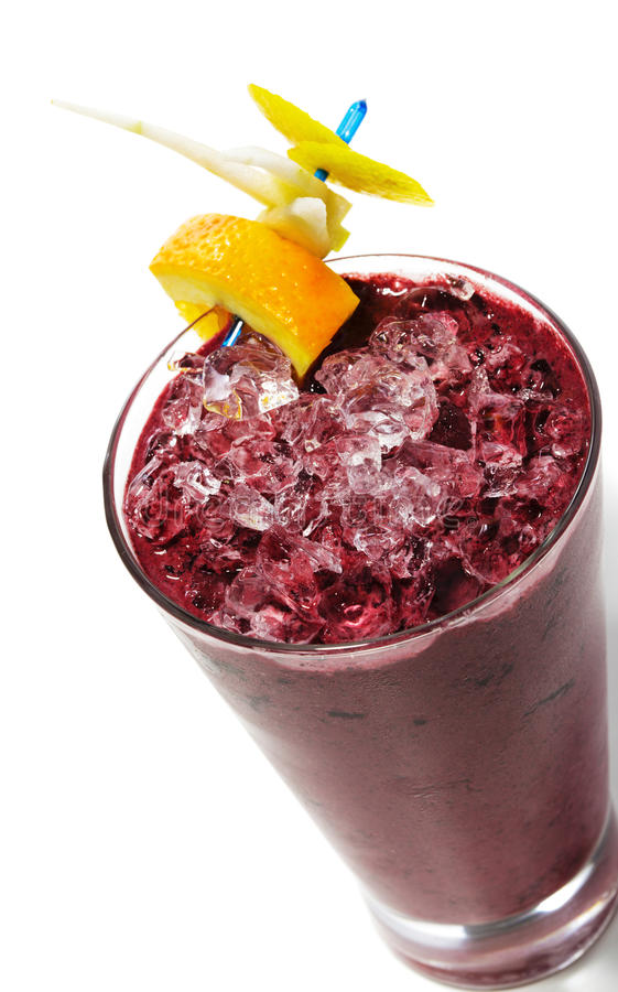 Smoothie de baies images stock