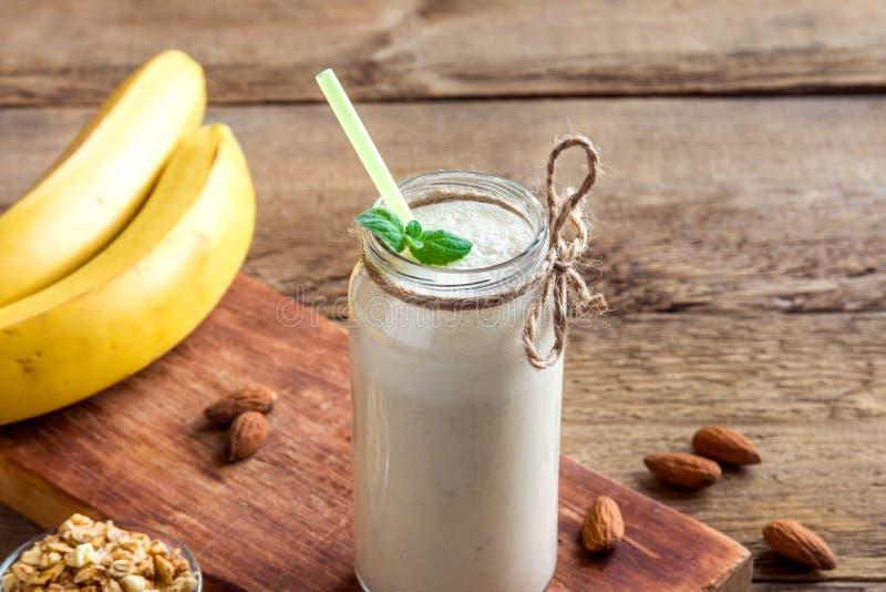Smoothie de banane image stock