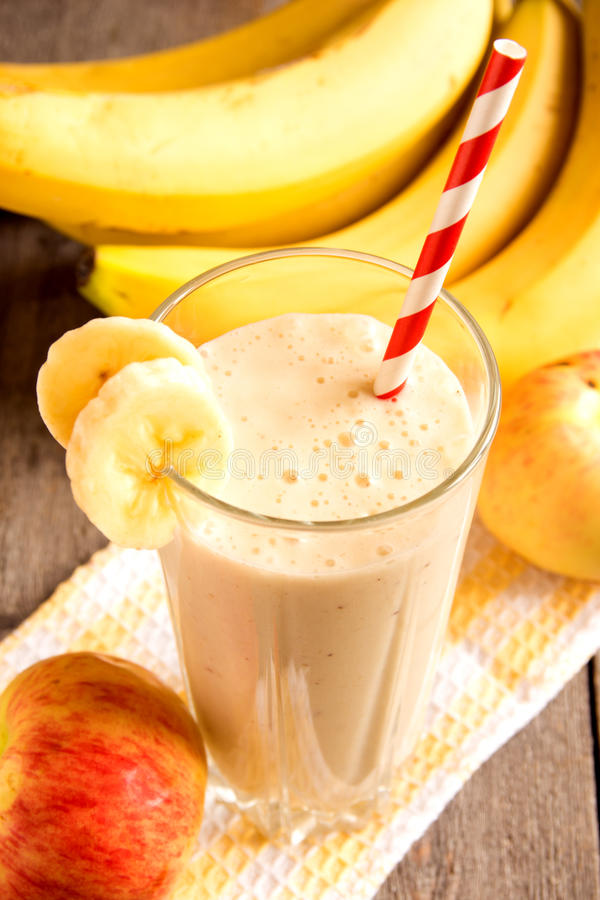 Smoothie de fruit images libres de droits