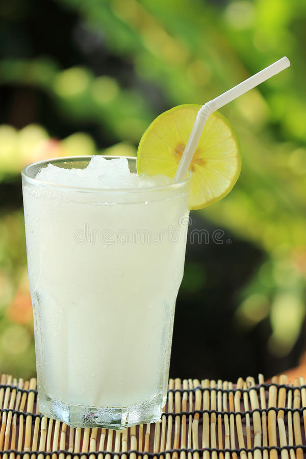 Smoothie de jus de limette de citron photos libres de droits