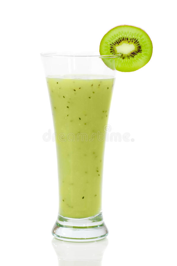 Smoothie de kiwi image stock