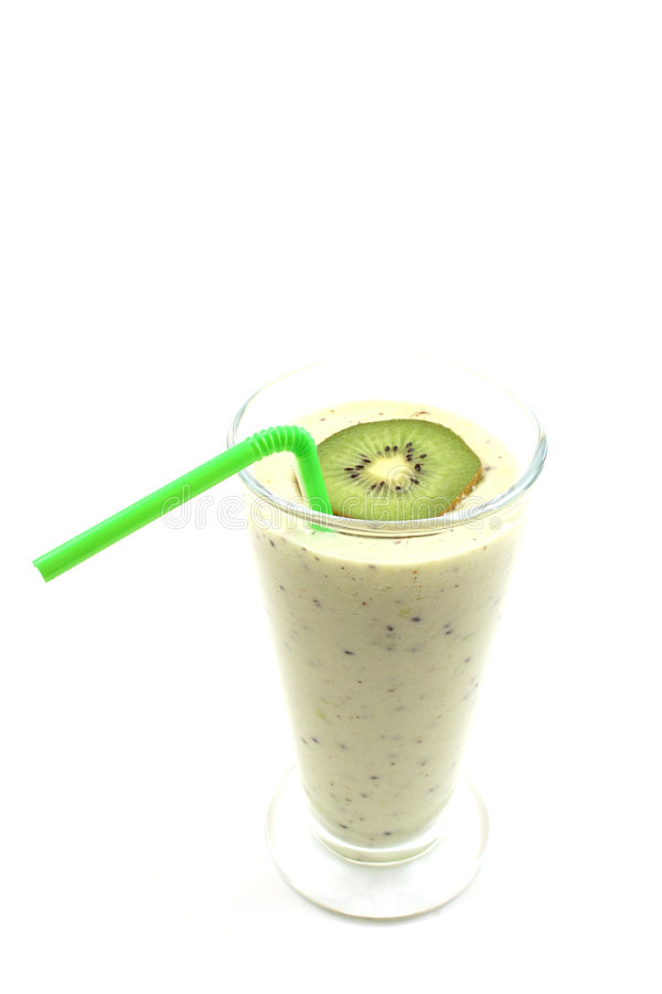 Smoothie de kiwi photos stock
