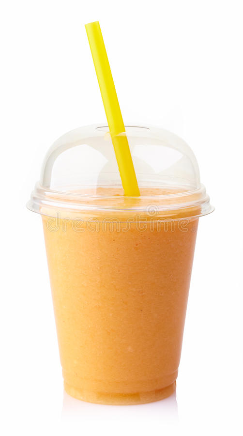 Smoothie de mangue photographie stock