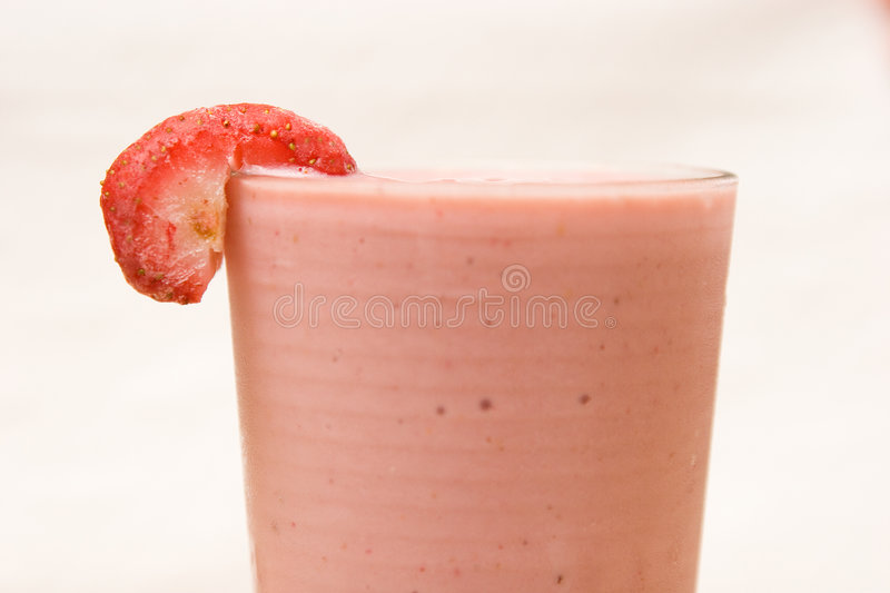 Smoothie de Strawberrie photo stock