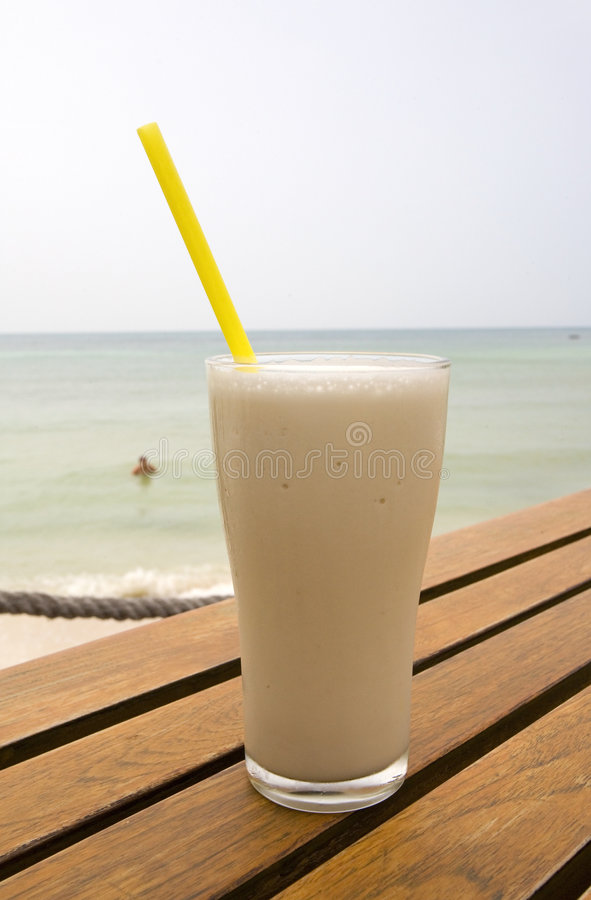 smoothie della bevanda fotografie stock