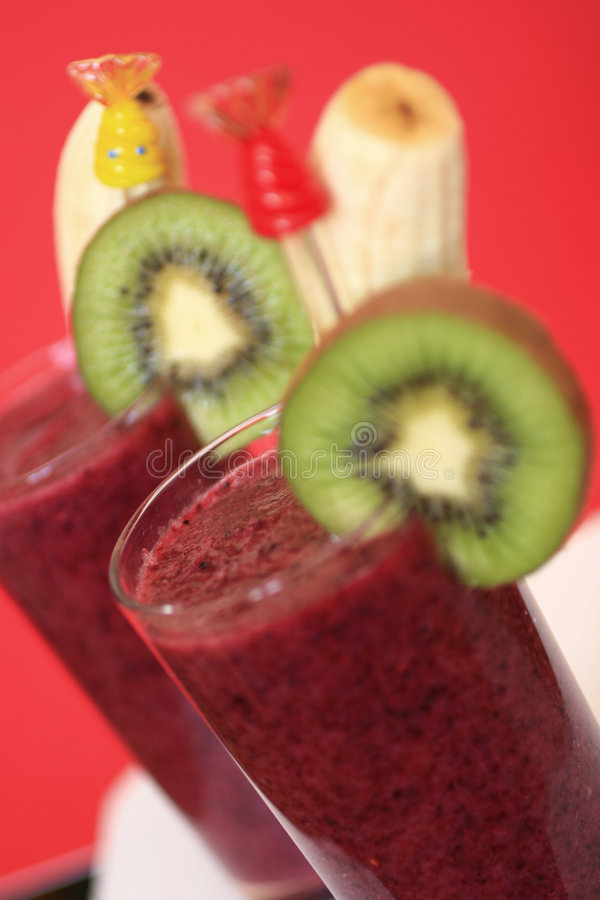 Smoothie Fruity foto de stock