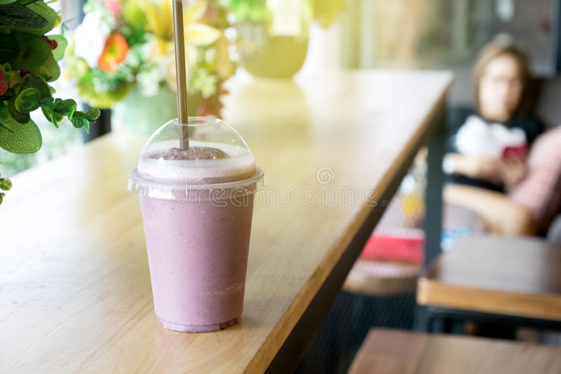 smoothie mix berry royalty free stock images